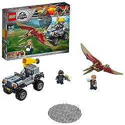 Lego Jurassic World Pteranodon-jagd 75926 Dinosaurier-spielzeug