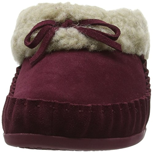 FitflopThe Cuddler Snugmoc - Pantofole donna (243 Hot Cherry)