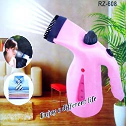 UDee 2 IN 1 HANDHELD GARMENT & FACIAL STEAMER ELECTRIC ITON STEAM PORTABLE HANDY VAPOUR STEAMER