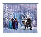 """Gardine/Vorhang FCS xl 4303 Disney, Frozen, 180 x 160 cm, 2-teilig"""""""