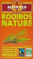 Alter Eco Thé Blanc Rooibos Nature Bio et Équitable 20 infusettes - Lot de 4