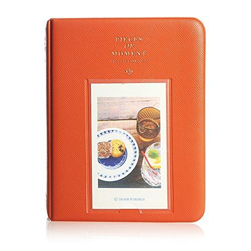 Album Photo Photographie Image 64Pochettes pour Polaroid Fuji Film Instax Mini Film ORANGE