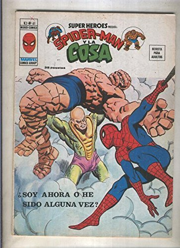 super-heroes-volumen-2-numero-61-spiderman-y-la-cosa
