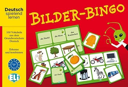 Bilder-Bingo: Deutsch spielend lernen. 100 Vokabeln aus dem Grundwortschatz Deutsch (Bild-bingo)