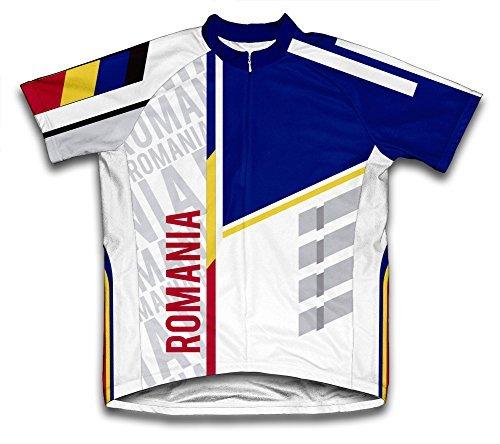 ScudoPro Romania Radsport Trikot mit kurzer Ärmel für Menner -