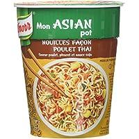 Knorr Mon Asian Pot Nouilles Poulet Thaï 65 g - Pack de 8