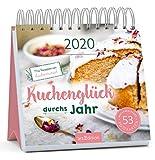 Postkartenkalender Kuchenglück durchs Jahr 2020 - Wochenkalender mit abtrennbaren Postkarten und Rezepten von Kuchentratsch: Ein ideales Geschenk für alle, die Kuchen lieben und gerne selber backen -