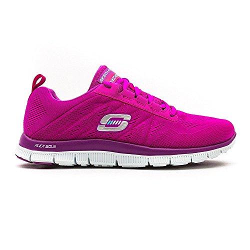 Skechers Flex Appealsweet Spot, Sneakers Basses Femme Pink (PKPR)