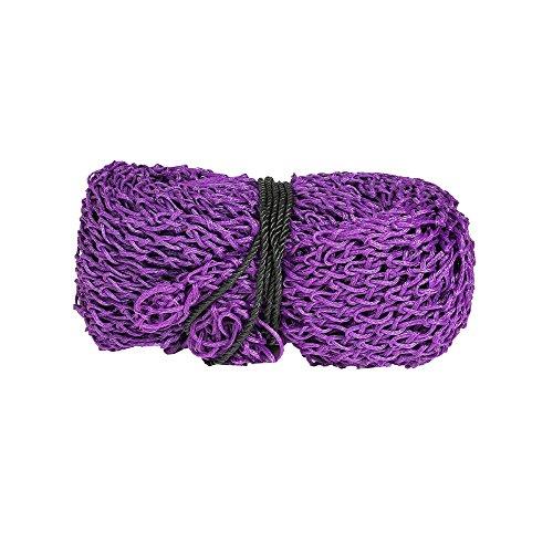 NETPROSHOP Großraumheunetz XXL Heunetz für Mind. 100 kg Heu Maße ca. 130 x 200 cm, Farbe:Violett