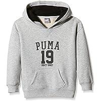 Puma Niños Style Athletics – Sudadera Deportiva g, Infantil, Color Gris, tamaño 116