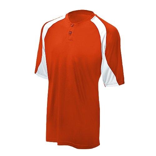Mizuno G32Farbe Block Jersey, Herren Damen, 350316.2000.03.XS, orange/weiß, xs -