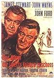 El hombre que mató a Liberty Valance Póster de película 11 x 17 en alemán - 28 cm x 44 cm James Stewart John Wayne Vera Miles Lee Marvin Edmond o ' Brien Andy Devine