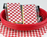 #3: Restaurant Style Serving Baskets (8) With Wax Liners(24)