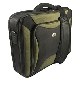 Natec 17 inch Pitbull Laptop Bag - Black/Green