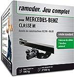 Rameder Pack attelage rotule Standard 4 Trous pour Mercedes-Benz Classe M + Faisceau...