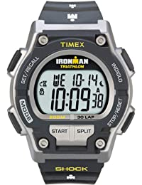 Timex Men Sport T5K1959J Ironman Original 30-Lap Shock Full-Size Black/Grey Watch