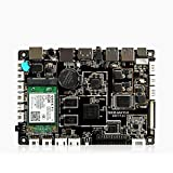 BEESCLOVER Motherboard A64 Intelligentes Display Motherboard Arm, Android Motherboard Cortex-A53 Quad Core 3,5 Zoll Industrial Motherboard A64