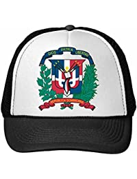 DIYthinker Nylon Gorra de béisbol República Dominicana Emblema Nacional símbolo del país Modelo del Signo Gorros