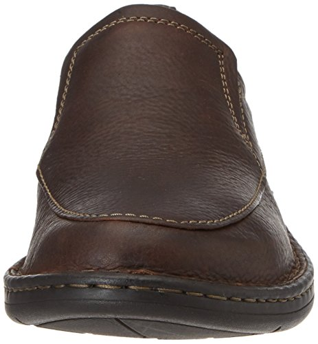 Clarks Kyros Free, Mocassini Uomo Marrone (brown Tumbled Leather)