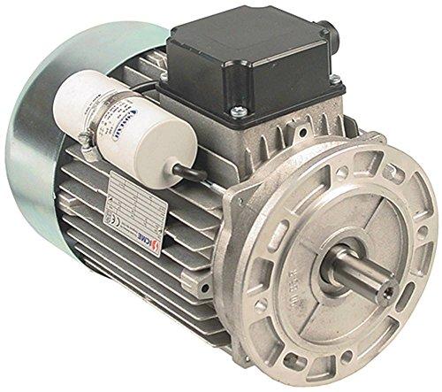 ICME M90L4 Motor für Teigknetmaschine Fimar IM38C, IM38F, IM38S, IM38E 230V 1,5kW 1400U/min 50Hz Welle ø 19mm 1 -phasig ø 180mm