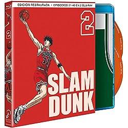 Slam Dunk - Box 2 (Episodios 21 a 40) [Blu-ray]