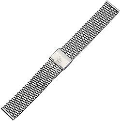 Uhrenarmband 18mm Edelstahl - Metallarmband Milanaise / Mesh - Ersatzarmband aus Edelstahl für Uhren - Uhrenarmbänder von Marburger seit 1945