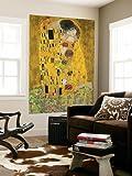 XXL-Poster Gustav Klimt: Der Kuss - Größe 115 x 175 cm