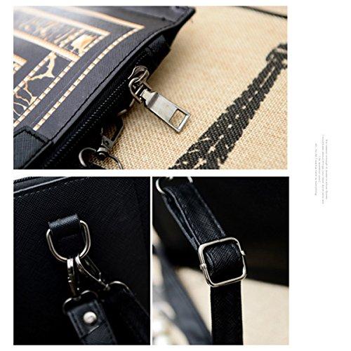 Milya Schultertasche Handtasche Umhängetasche Damen tasche Reisetashe Schule Tasche Rucksack Crossbody Bag Tote Handtasche Clutch Abendtasche Eule