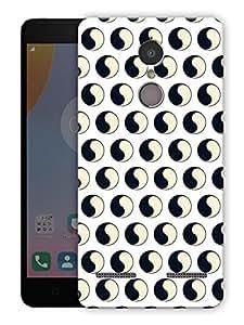 "Humor Gang Yin and yang Printed Designer Mobile Back Cover For ""Lenovo k6"" (3D, Matte Finish, Premium Quality, Protective Snap On Slim Hard Phone Case, Multi Color)"