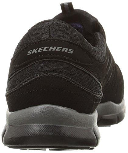 Skechers Gratisbig-idea, basket femme Black