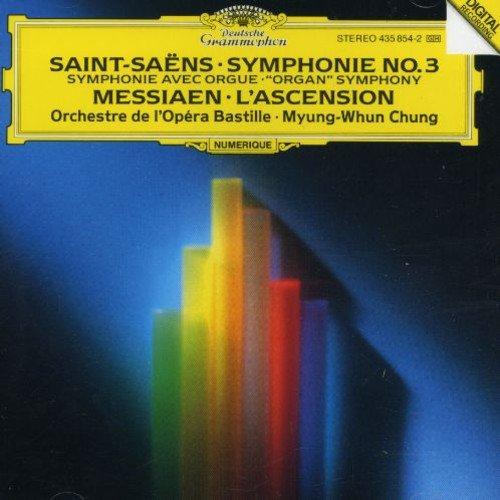 """Saint-Saëns: Symphony No.3 """"Organ"""" / Messiaen: L'Ascension"""