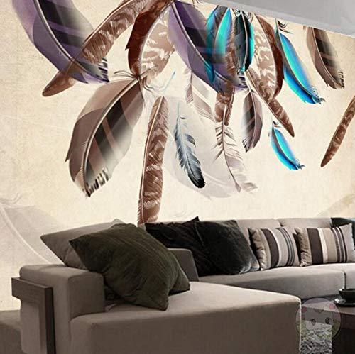 ision Braune Idee Vlies Wandaufkleber Für Schlafzimmer Wohnzimmer Küchen Wandkunst Dekoration Poster 350x245cm ()