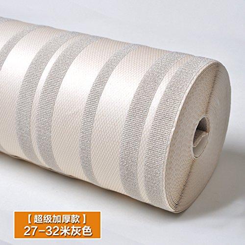 VLIMG carta da parati , Striped modelli 3d tridimensionale sfondo goffrato, 3