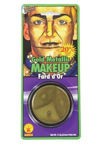 Metallic-Fett, (Silver), Halloween, Make-Up (Up Man Make Tin)