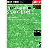 Technique of the Saxophone - Volume 2: Chord Studies