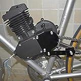 FANMURAN Tendicatena a Molla Caricato per Moto 49cc 50cc 66cc 80cc Motorized Bike Black