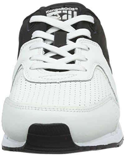 KangaROOS Coil-r2 Tone, Baskets Basses Mixte Adulte Multicolore - Mehrfarbig (Black/White 501)