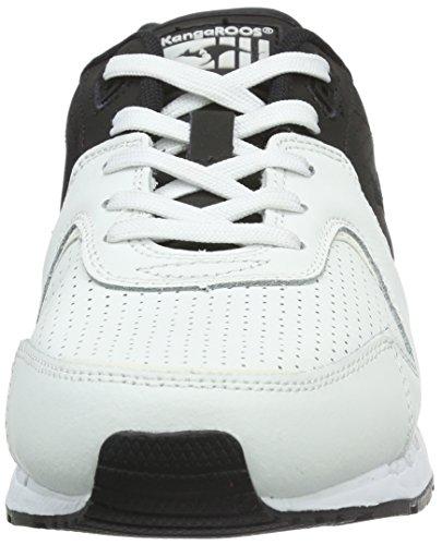 KangaROOS - Coil-r2 Tone, Scarpe da ginnastica Unisex – Adulto Multicolore (Mehrfarbig (Black/White 501))
