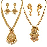 Best Necklace For Kids - YouBella Jewellery Sets for Women Gold Plated Necklace Review