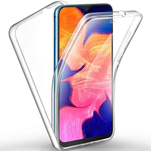 AROYI Samsung Galaxy M10/ Samsung Galaxy A10 Hülle 360 Grad Handyhülle, Silikon Crystal Full Schutz Cover [Separat Hart PC Zurück + Weich TPU Vorderseite] Vorne & Hinten Schutzhülle für Samsung A10