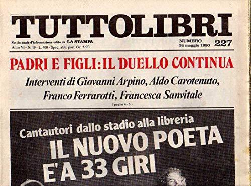 Tuttolibri n. 227 del Maggio 1980 Piero Angela, Grigorenko, Borsani