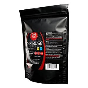 D-Ribose Pharmaceutical Grade 500g Powder-Resealable Pouched NOW WITH 25% EXTRA FREE 625g FOR THE PRICE OF 500g