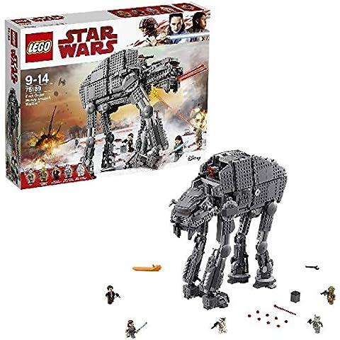 LEGO - 75189 - Star Wars - Jeu de construction - First Order Heavy Assault Walker
