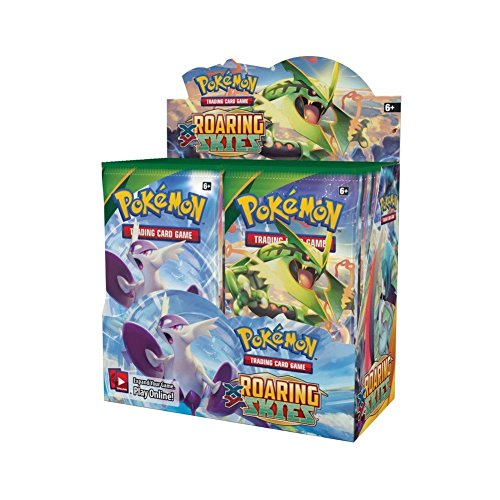 The Pokemon Company XY Series 6-Roaring Skies Booster Display Card Game