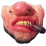 Beatie Máscaras de media cara Cosplay Fun Scary Party Halloween Fool's Day Payaso Latex Half Face Mask