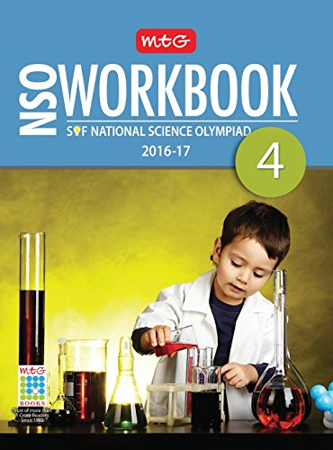 MTG National Science Olympiad Work Book - Class 4