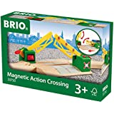Brio - 33750 - Circuit de train en bois - Passage à Niveau Magnetique