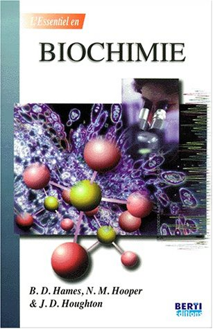 Biochimie par B-D Hames
