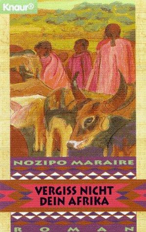 Buchseite und Rezensionen zu 'Vergiß nicht dein Afrika' von Nozipo Maraire