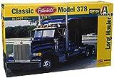 Italeri I3857 - Maquette - Voiture et Camion - Peterbilt 378 Long Hauler - Echelle 1:24